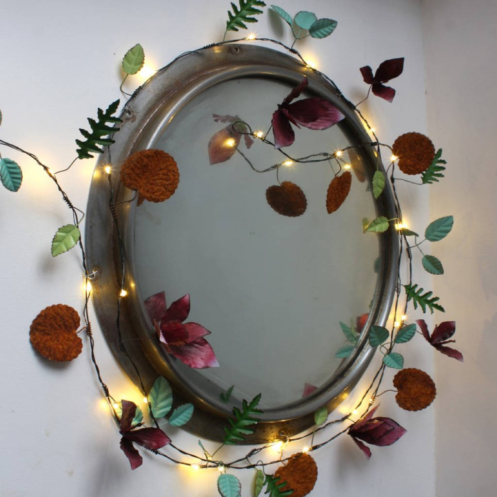 Handmade Botanical Light Chain By All Things Brighton