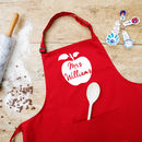 Personalised Teacher Apron
