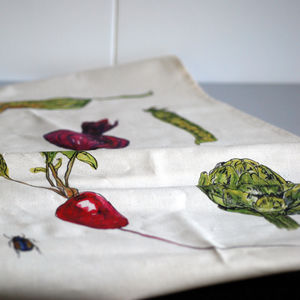 Vegetable Cotton Tea Towel