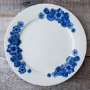 'Floral' Bone China Side Plate