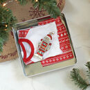 Personalised Christmas Eve Box In Tin