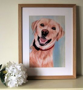 Personalised Pet Portrait - canvas prints & art