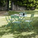 Large Bistro Set In Green