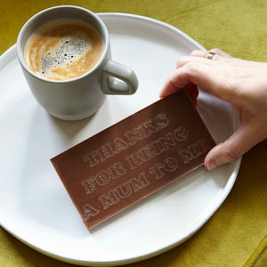 Personalised Engraved Chocolate Bar - chocolates