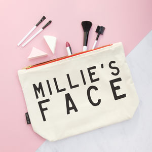 Personalised Make Up Purse - make-up & wash bags