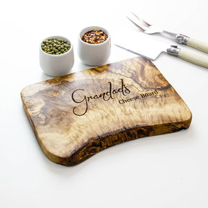 Personalised Cheese / Chopping Board - gifts for couples