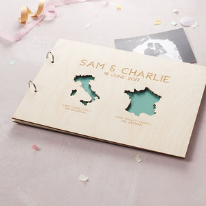 Personalised Country Destination Photo Album - photo albums