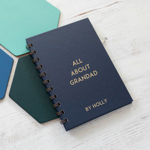 Personalised All About Grandad Book