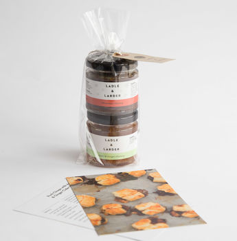 Festive Stocking Filler Chutney Gift Bag