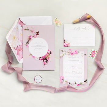 Wedding Invitations: Secret Garden Collection