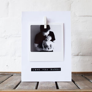 Personalised Photo Stamped Message Card - shop by category