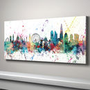 Panoramic large canvas London Skyline