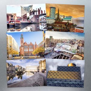 Six Birmingham Postcards