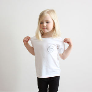 Unisex 'Two Littles' Logo T Shirt
