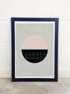 Circular By Seventy Tree - posters & prints
