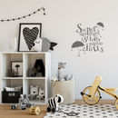 'Supercalifragilistic…' Wall Sticker