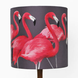 Flock Of Flamingos Lampshade