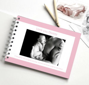 Personalised Dad Album - best gifts for fathers