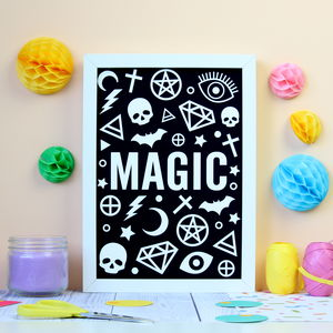 Black Magic Print