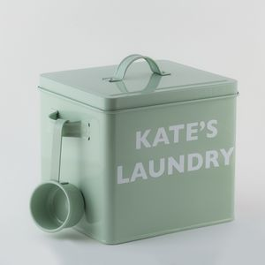 Personalised English Heritage Laundry Powder Tin Set - storage & organisers