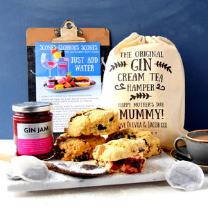Make Your Own Gin Cream Tea