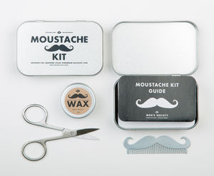 Moustache Grooming Kit - view all gifts for him