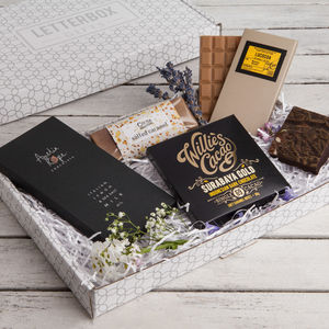 'The Chocolate Box' Letterbox Gift Set - shop by interest