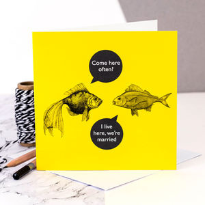 Anniversary Card 'Come Here Often?' - shop by category