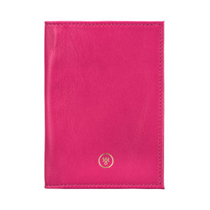 Personalised Handcrafted Leather Passport Cover 'Prato'