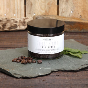 Coffee And Mint Body Scrub - skin care