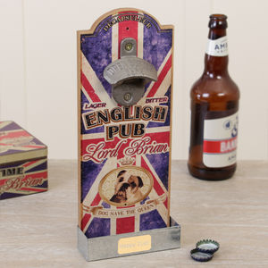Personalised British Lord Brian Bottle Opener