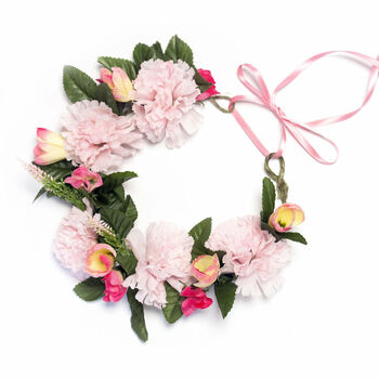 Make A Bridesmaid Flower Crown Kit