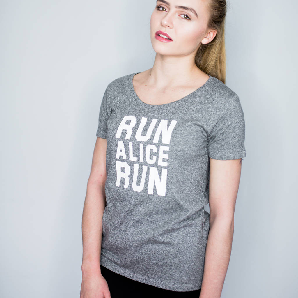 Personalised Running T Shirt