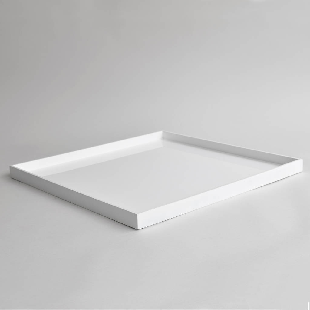 Lacquer Xl Square Ottoman Tray By Nom Living