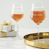 Personalised Drinks Measure Wine Glass - shop by interest