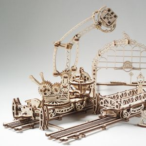 Rail Manipulator Mechanical Town By Ugears