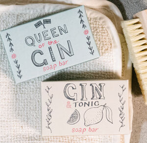 Gin Soap Bar Duo