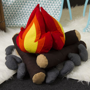 Felt Campfire Set - pretend play & dressing up