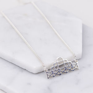 Brighton West Pier Sterling Silver Necklace
