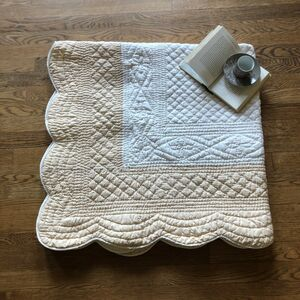 French Reversible Hand Stiched Quilt