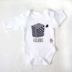 Personalised Cube Visual Stimulation Bodysuit