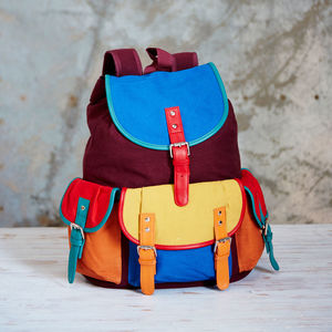 Bahu Canvas Backpack - men's accessories