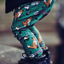 'Woodland' Print Baby And Toddler Harem Leggings
