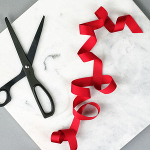 Red Grosgrain Ribbon - ribbons