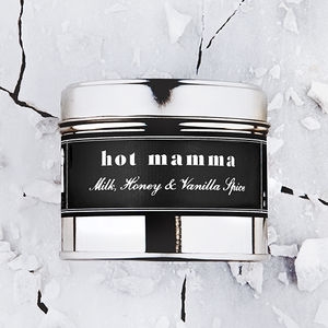 'Hot Mamma' Milk And Vanilla Scented Candle - summer sale