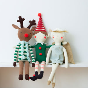 Christmas Characters Soft Toys