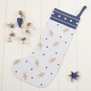 Gingerbread Christmas Stocking - stockings & sacks