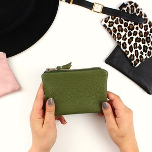 Leather Pouch - purses & wallets
