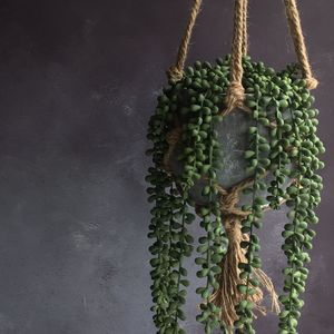 Artificial Hanging Plant - artificial outdoor plants