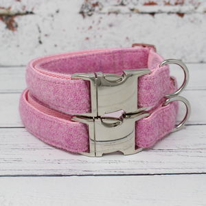 Beitidh Harris Tweed Dog Collar